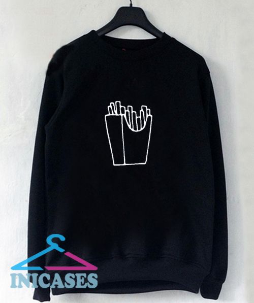 Fries Sweatshirt Men And Women
