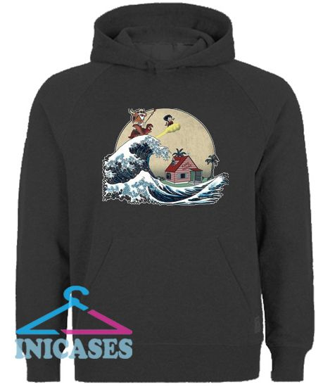 GOKU And MASTER ROSHI Ride The Wave Hoodie pullover
