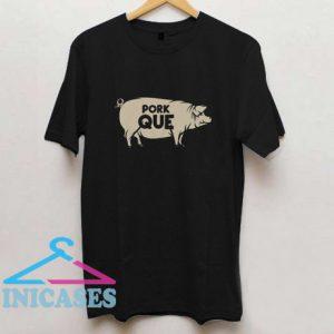 Pork Que Spanish Pun T Shirt