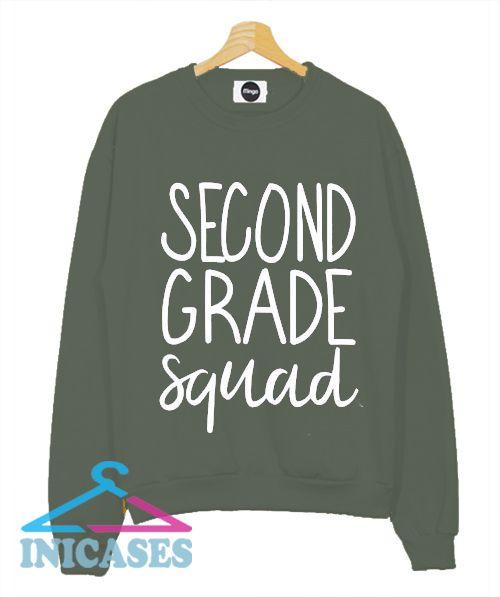 Second Grade Squad Sweatshirt Men And Women