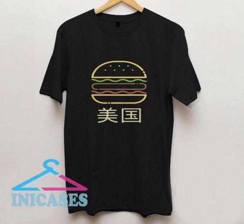 Vaporwave Hentai Cheeseburger T Shirt