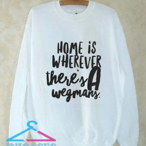 Wegmans Crew Sweatshirt Men And Women