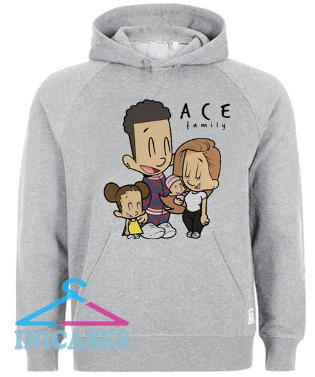 the ace family cartoon Hoodie pullover