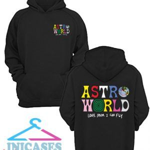 Astroworld Look Mom I Can Fly Travis Scott Hoodie pullover