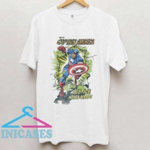 Captain America Marvel Comics T Shirt