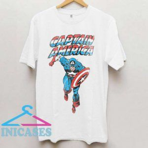 Captain America On The Run T Shirt