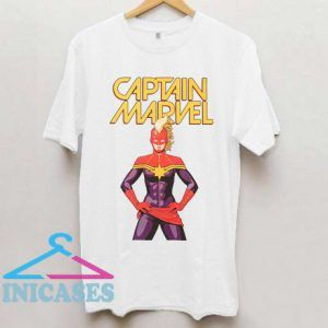 Captain Marvel Comic Pose T Shirt