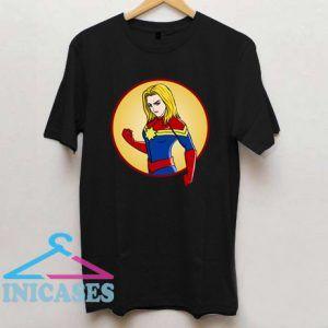 Captain Marvel comics T Shirt