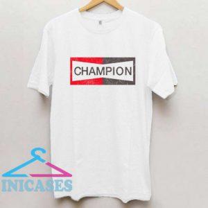 Champion Brad Pitt T Shirt