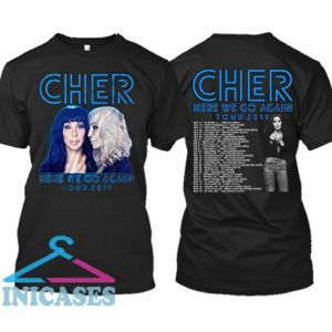 Cher Pop Queen 2019 Tour T Shirt