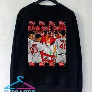 Damage Done 2018 Boston Red Sox Sweatshirt Men And Women
