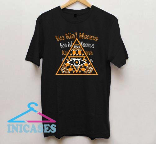 Ku Kiai Mauna Mauna Kea T Shirt
