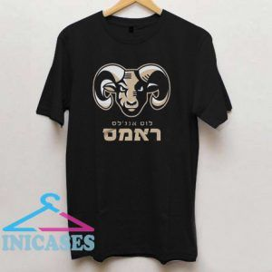 Los Angeles Rams Stare Down Hebrew T Shirt