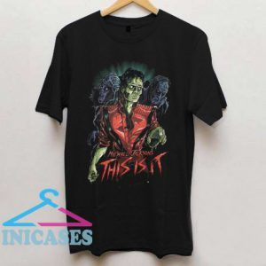 Michael Jackson Zombie This Is It T Shirt