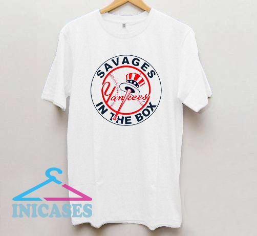 New York Savages In The Box Yankees T Shirt