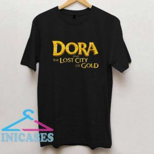 Official Dora And The Lost City Of Gold T Shirt
