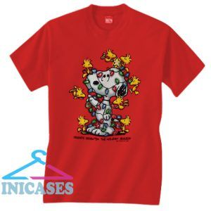 Peanuts Friend Brighten The Hoiday Season T Shirt