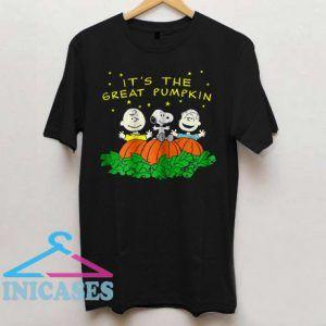 Peanuts Halloween It's The Great Pumpkin T Shirt