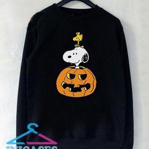 Peanuts Halloween Snoopy and Woodstock Sweatshirt Men And Women