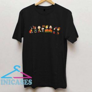 Peanuts Trick or Treat Snoopy Charlie Brown Halloween T Shirt