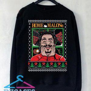 Post Malone Home Alone Christmas Sweatshirt Men And Women