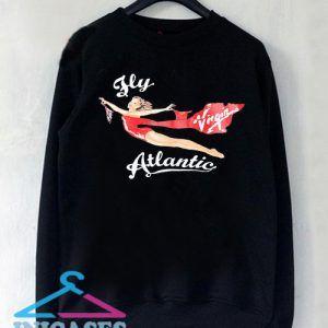 Princess Diana Virgin Atlantic Fly Atlantic Sweatshirt Men And Women