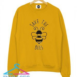 Save The Bees Cute Sweatshirt Men And Women