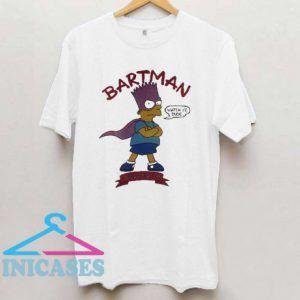Vintage Bart Simpson Bartman T Shirt