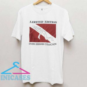 Vtg 90's Sex Divers Designer Collection T Shirt