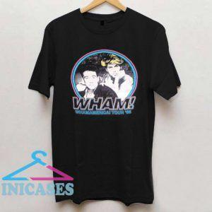 Wham Whamamerica Tour T Shirt