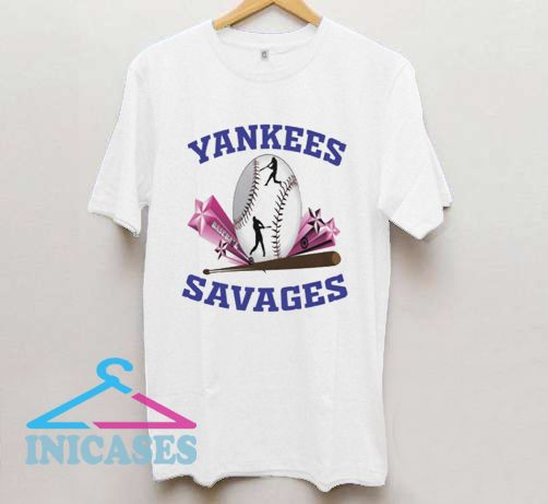 Yankees Savages In The Box T Shirt