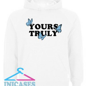 Yours Truly Butterflies Hoodie pullover