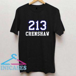 213 Crenshaw Los Angeles T Shirt