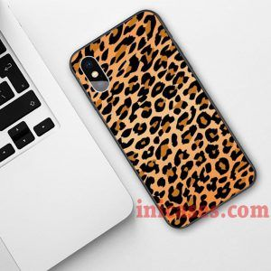 Animal Print Cheetah Phone Case For iPhone XS Max XR X 10 8 7 6 Samsung Note