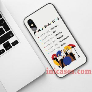 Be like Friends Phone Case For iPhone XS Max XR X 10 8 7 6 Samsung Note