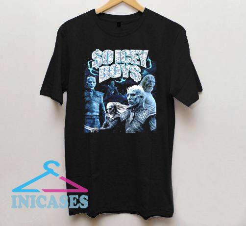 So Icey Boys T Shirt