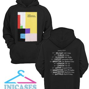 The 1975 Abiior Tour Hoodie pullover
