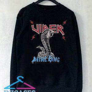 Anine Bing Serpent Sweatshirt Men And Women