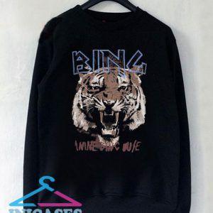 Anine Bing Tiger Sweatshirt Men And Women