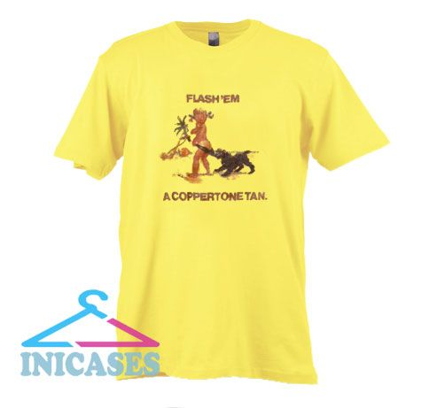 Coppertone tan T Shirt