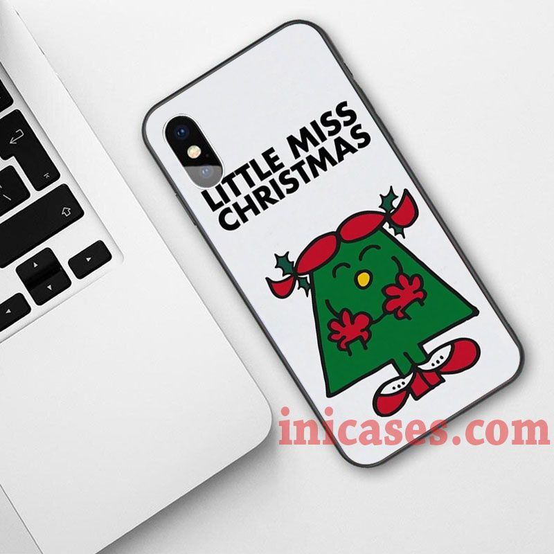 Christmas Phone Case Iphone Xr.Little Miss Christmas Phone Case For Iphone Xs Max Xr X 10 8 7 6 Samsung Note