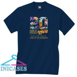 20 Years of Naruto Unisex T Shirt