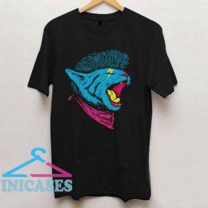 Cat Punk T Shirt