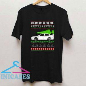 Christmas Mitsubishi Lancer Evo T Shirt