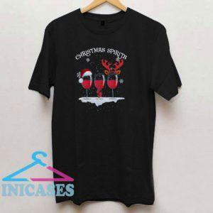 Christmas Spirits Digital T Shirt