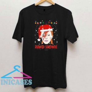David Snowie Funny Christmas T Shirt