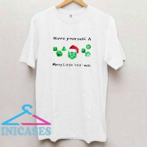 Dnd Gamer Christmas Have Yourself A Merry Little Crit Mas T Shirt