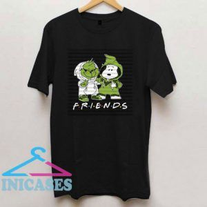 Friends Snoopy And Grinch Christmas Movies T Shirt