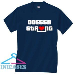 Midland Odessa Strong Support Odessa Heart T Shirt