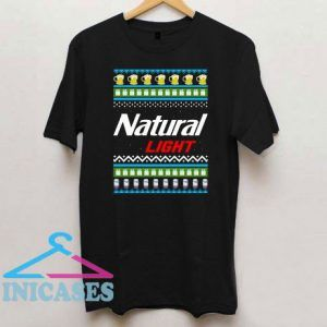 Natural Light Christmas T Shirt
